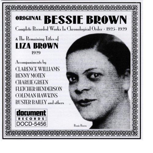 (Original) Bessie Brown (1925-1929) & Liza Brown (1929)