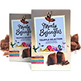 Monty Bojangles Cocoa Dusted Truffles Selection, 2 x 200g Gift Boxes