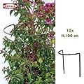 Busch und Strauchstütze 10 Stk.100 x 40 cm 10142 von bellissa auf Du und dein Garten