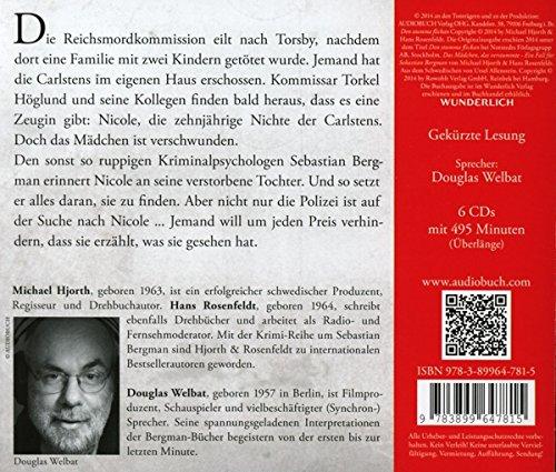 Das Mädchen, das verstummte - 6 CDs mit 495 Min. (Die Fälle des Sebastian Bergman): Alle Infos bei Amazon