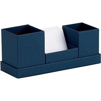 S.O.H.O 1311452900 Desk Organizer Plus Jotter Box Navy