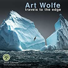 art wolfe 2016 wall calendar travels to the edge