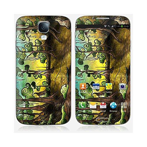 Skinkin Wandtattoo Galaxy S4von zu Hause Design Original: Alligator Swamp von Mandie Manzano (Friaul-Julisch Venetien) (Alligator-wandtattoo)
