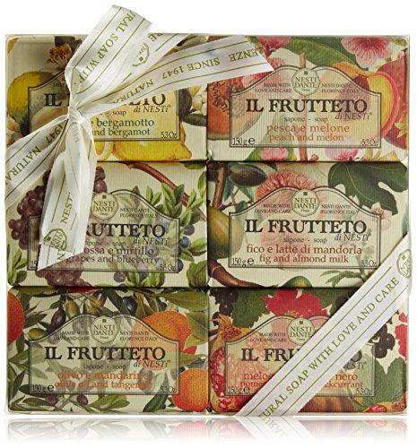 NESTI DANTE Il Frutteto colección, Jabón 6 x 150 g