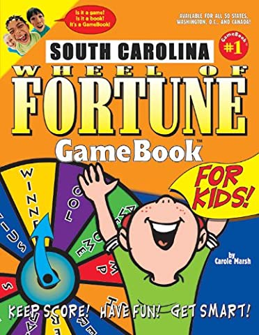 South Carolina Wheel of Fortune Game Book for Kids! (Wheel of Fortune GameBooks)