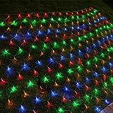 XCXDX Multi-Color-LED-Netz Lichter DIY 8 Modi String-Beleuchtung Für Wohnkultur Baum Terrasse