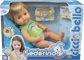 Giochi Preziosi Cicciobello Sederino Rosso, Bambola con Accessori per Curare l'Irritazione da Pannolino