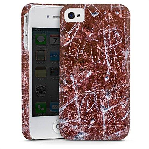 Apple iPhone 5s Housse Étui Protection Coque Rouille Egratignure Motif Cas Premium mat