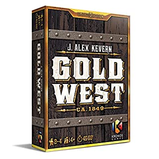 Unbekannt Tasty Minstrel Games TMG01014 - Brettspiele, Gold West (1938146697) | Amazon price tracker / tracking, Amazon price history charts, Amazon price watches, Amazon price drop alerts