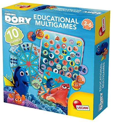 Lisciani-56927-Dory-Multigames-Kinderspiel