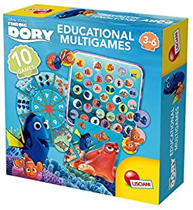 Lisciani 56927 Niño/niña Juego Educativo - Juegos educativos (Niño/niña, 3 año(s), 6 año(s), Italia, Caja Cerrada, Puzzles)