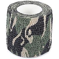 Shuzhen,Imprägniern Sie Vlies-Klebeband des Camouflage-4.5M im Freien(Color:Digitale Dschungel Camouflage)