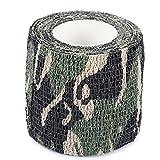 Zhuhaimei,Imprägniern Sie Vlies-Klebeband des Camouflage-4.5M im Freien(Color:Digitale Dschungel Camouflage)