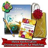 Geschenk zur Konfirmation - Erinnerungsalbum Meine Konfirmation - für Mädchen