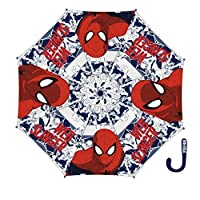 Arditex - 009016 - Spiderman Vinyl Umbrella with Manual Opening - 18/8