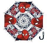 Arditex 009016–Regenschirm mit Öffnung Handbuch in Vinyl–Spiderman 46/8