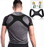 Charminer Posture Trainer, Support de Dos pour entraîneur d'épaule, correcteur de Posture Droite, bandoulière pour...