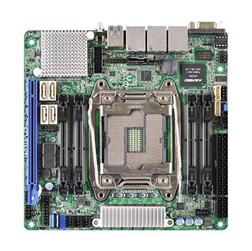 ASRock EPC612D4I Rack EP2C612D4I Server-Board Intel C612 2011 Mini ITX Dual GB LAN IPMI LAN - (Komponenten > Motherboards)