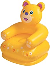 Inglis Lady Aerizo Inflatable Animal Air Chair for 3-8 Years Kids (Multi)