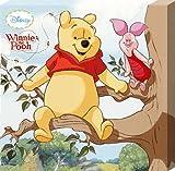 Winnie l'ourson et Porcinet dans un arbre Impression sur toile 35 x 35 cm