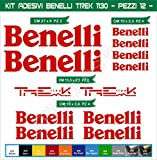 Aufkleber stickers BENELLI UNIVERSLA TREK 1130 moto decal bike-Motorrad- Cod. 0646 (Rosso cod. 031)