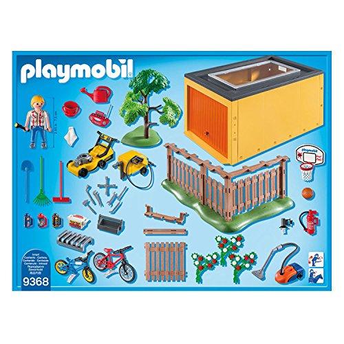 Playmobil 9368 Garage Mit Fahrradstellplatz Exklusivset Comparee