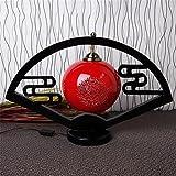 WGE Chinesische Klassische Bühnenlampe Keramik Studie Schlafzimmer Nachttisch Lampen Kreative