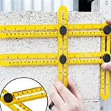 Celebrationgift Multi-Angle Measuring Ruler Tools Plastic Scale
