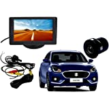 Auto Pearl 2-in-1 LCD Display Indicator Car Reverse Parking Camera with CCD LED Night Vision for Swift Dzire