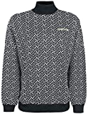 ADIDAS Sweater Girl-Sweat-Shirt schwarz/weiß S