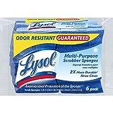 Lysol Multi-Purpose Durable Scrub Sponges, 6-Pack - Best Reviews Guide