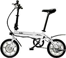 eelo Bici Elettrica 1885 - Bicicletta elettrica Pieghevole - Risparmia Tempo evitando Il Traffico