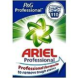 Ariel Środek piorący do pełna proszek promieniujący czysty, 7,15 kg – 1 opakowanie (1 x 110 prań)