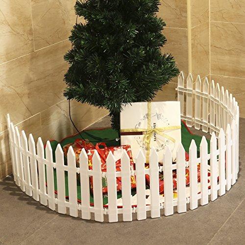 Staccionata In Plastica Giardino.Tinksky Staccionata In Plastica In Miniatura Per Albero Di Natale