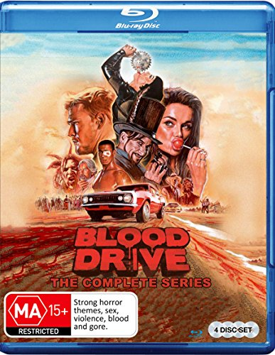 BLOOD DRIVE: SEASON 1 - BLOOD DRIVE: SEASON 1 (4 Blu-ray)