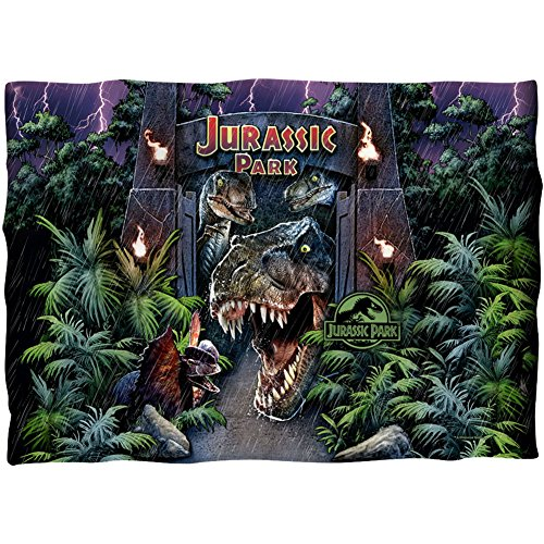 Jurassic Park Welcome to the Park Kissen Fall Weiß One Size Surf-throw-kissen