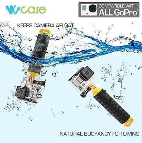 Kamera Deluxe-set (Wocase GoPro Wasser Sport Zubehör (separat erhältlich): Floating Hand Grip/Dive Scuba Filter Set (5PCS) für hero4Hero3+/24PCS/Pack extra starke Anti Nebel Einsätze/Deluxe Bundle/Surf Board Halterung für alle GoPro Hero Kameras (separat erhältlich)?)