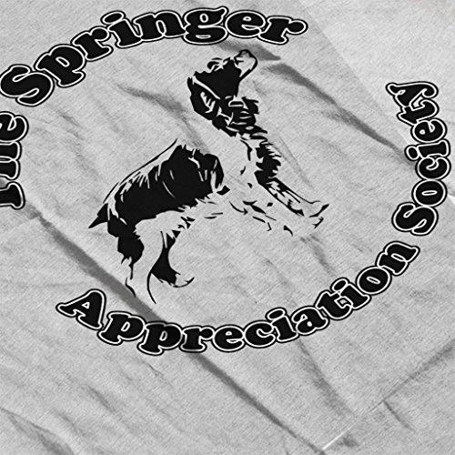 Springer Appreciation Society Men's Hooded Sweatshirt Heather Grey