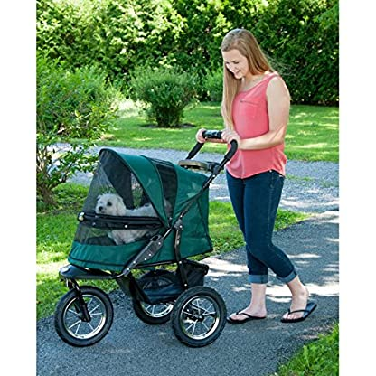 Pet Gear Jogger No-Zip Stroller, Rugged Red 4