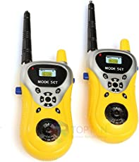 Toptan walkie Talkie Set for Kids Best for 2 Players Play