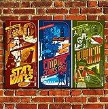 Box Prints Star Wars Trilogie Film Leinwand Wand Kunstdruck Bild groß Klein