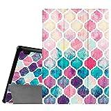 Fintie Lenovo Tab 2 A10 / Tab 3 10 Business Funda - Ultra Slim Smart Case Funda Carcasa con Stand Función y Auto-Sueño / Estela para Lenovo Tab2 A10-70F / Tab 2 A10-70L / Tab 2 A10-30 / Tablet2-X30F / Tab 3 10 Business 10.1 Inch Tablet, Colorful Mosaic