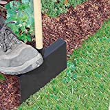 bellissa Rasenkantenstecher für Rasenkanten - 99647 - Kantenstecher aus Stahlblech mit Holzstiel - 24 x 3 x 118 cm