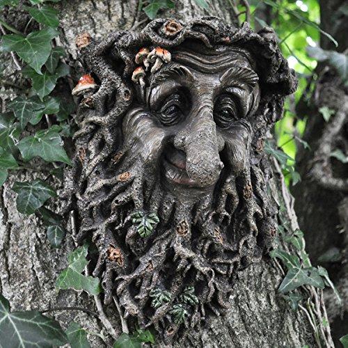 Figura decorativa de hada, elfo, pixie, de jardín para colgar