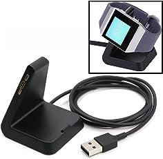 99native  Ersatz Ladegerät USB aufladenaufladeeinheits Kabel Dock-Station für Fitbit Ionic,Kabellänge 100 cm Material Kunststoff