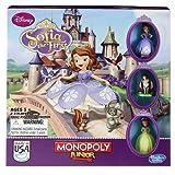 Disney Monopoly Junior Princesse Sofia, jeu de société