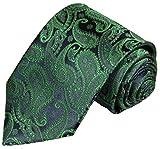 Krawatte von Paul Malone grün blau paisley Hochzeitsmode Bräutigam