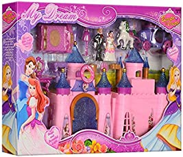 Angel Impex Princess of My Dreamland Toy Castle Playset with Music and Beautiful Light