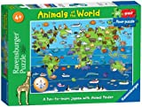 Ravensburger Puzzle Animals of the World Giant Floor Puzzle (60 Pieces)
