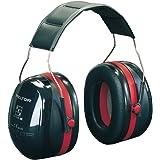3M Peltor Optime III - Casque antibruit en serre-tête pliable - Pour milieu bruyant et stressant - Atténuation 35 dB - 1 x ca